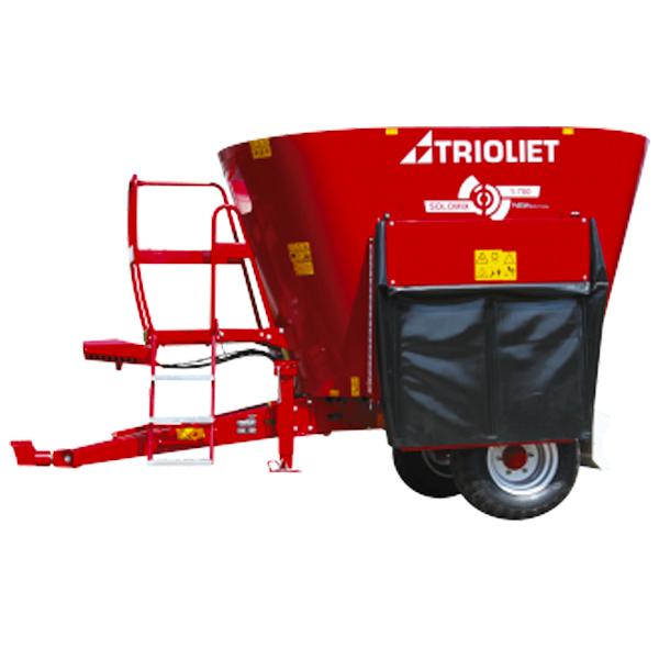 Mixer marca TRIOLIET modelo Solomix 1 ZK de 5-14 m3