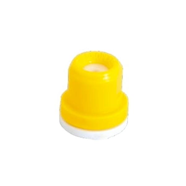 Boquilla amarilla 02 Cono Hueco Cerámica Agroplast