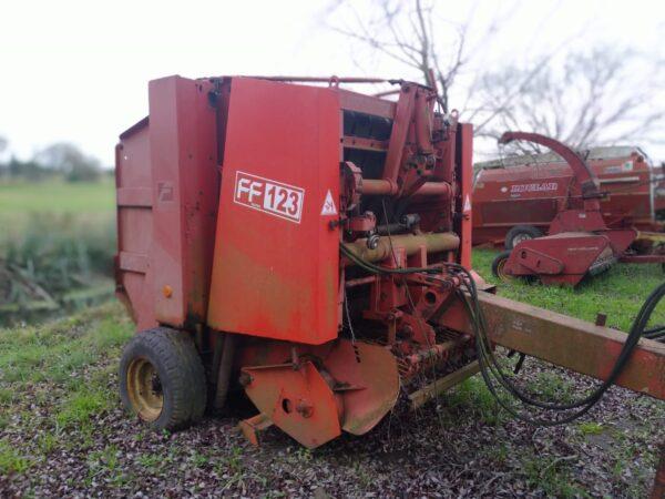 Enfardadora usada FERABOLI modelo FF123