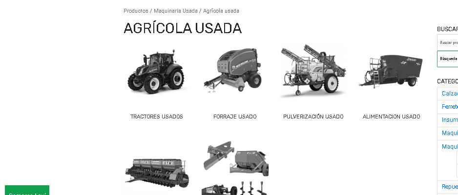 VISITE NUESTRA SECCIÓN DE MAQUINARIA USADA
