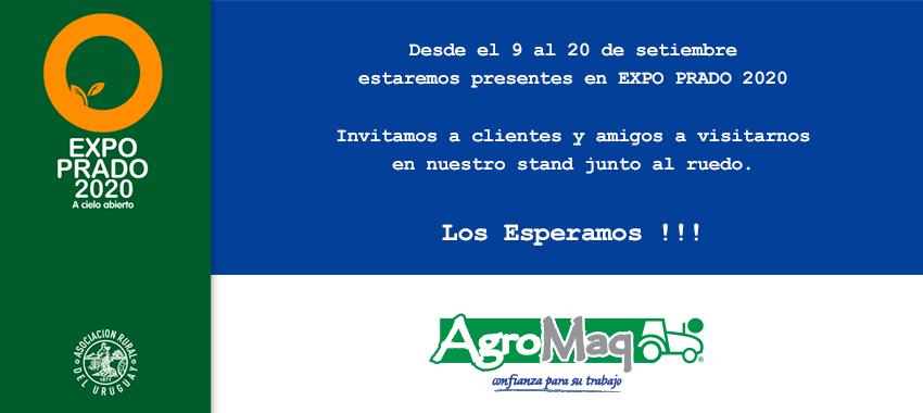 TE INVITAMOS NUEVAMENTE A VISITARNOS EN LA EXPO PRADO 2020 DESDE EL 9 AL 20 DE SETIEMBRE